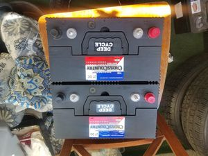 Group size 27 Deep CYCLE Marine/Rv batteries for Sale in Santa Fe Springs, CA