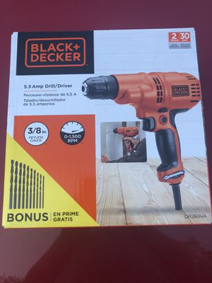 Black and Decker Drill for Sale in Berkeley Springs, WV
