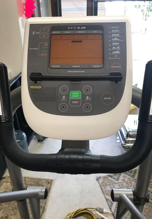 Precor elliptical machine EFX 5.25