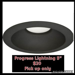 "New Progress Lighting P8061-31/30K9-AC1-L06 LED Trim, 5"", Black ☆Pick up only☆ for Sale in Phoenix, AZ"