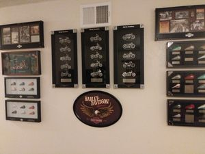 Harley Davidson shadow boxes complete set for Sale in Paramount, CA