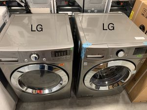 BRAND NEW LG WASHER AND DRYER for Sale in Houston, TX