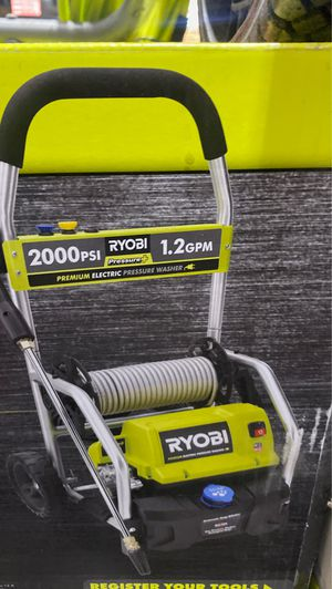 2000 PSI electric pressure washer Ryoby for Sale in Los Angeles, CA