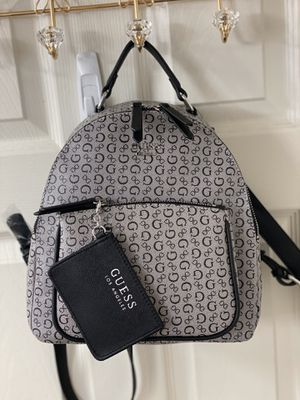 Leather Backpack with pouch Guess - Brand new for Sale in Delray Beach, FL