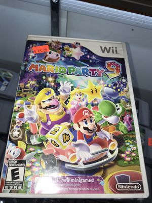 Mario party 9 video game in stock ( plaza garland) for Sale in Garland, TX