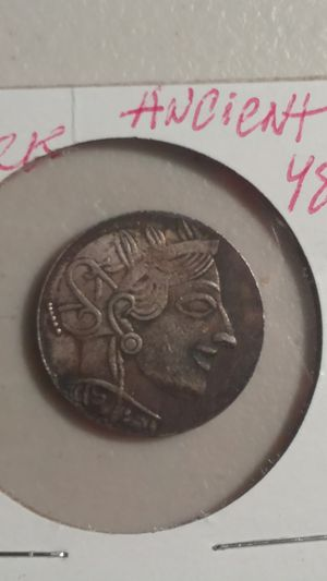 ** RARE OLD GREEK ANCIENT 48* SILVER *D: 30 MM.-6.5 GRAMS* QUALITY 3* for Sale in Brooklyn, NY