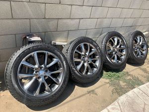 "20"" Dodge Durango R/T oem Wheels Rims SRT Jeep Grand Cherokee SRT8 for Sale in Los Angeles, CA"