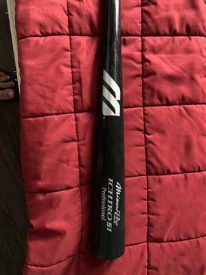 Ichiro baseball bat with barcode for Sale in Tacoma, WA