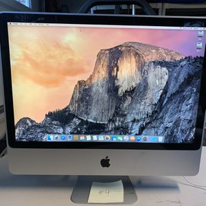 """iMac - 24"""" 2.93 GHz Core 2 Duo 4 GB Ram - Good Condition for Sale in Trabuco Canyon, CA"""