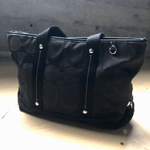 Coach Canvas Monogram Shoulder Bag for Sale in Olympia, WA