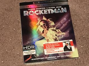 RocketMan 4k Bluray complete for Sale in Pasadena, CA