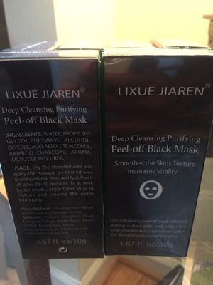 Deep Exfoliating Organic Black Face Mask for Sale in Raleigh, NC