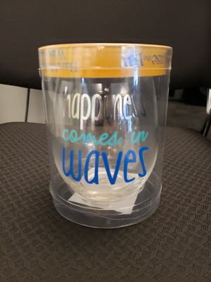 Decorated Wine Glass for Sale in Seattle, WA