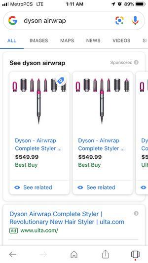 Dyson airwrap for Sale in Oak Lawn, IL