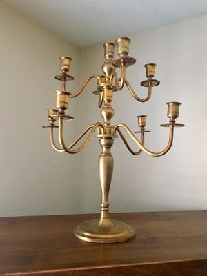 Brass Candelabra for Sale in Chandler, AZ