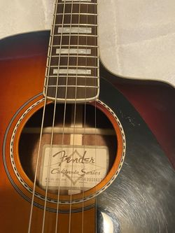 Fender California Series acoustic electric guitar for Sale in Wenatchee,  WA