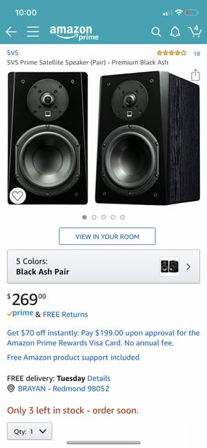 SVS speakers for Sale in Redmond, WA