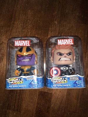 Marvel Mighty Muggs Thanos Captain America Hasbro NEW for Sale in South Miami, FL
