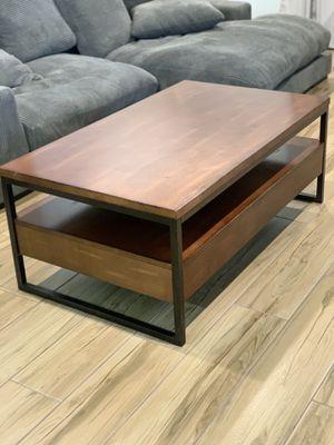 Modern Wooden Coffee Table for Sale in Phoenix, AZ