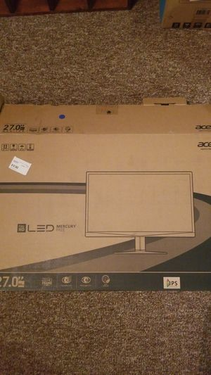 Acer 27 inch 1080p 60hz monitor for Sale in Webster, MA