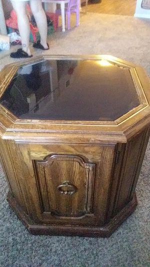 Antique coffee table very unique with storage beneath. Great condition!! for Sale in Aurora, CO