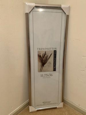 Trendsetter Poster Frame, Bronze for Sale in Alexandria, VA