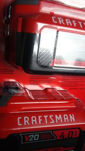 Craftsman 20v. 4ah. 2pack for Sale in Auburn, WA