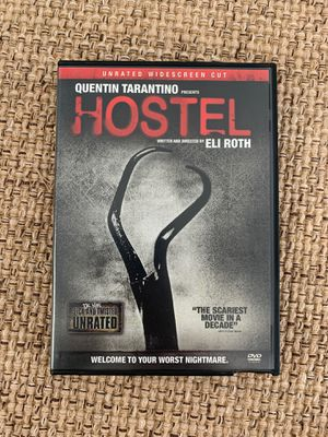 Quentin Tarantino's Hostel DVD Like New horror movie for Sale in Hazlet, NJ
