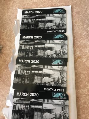March bus pass for Sale in Pawtucket, RI