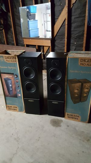Digital audio pros towers for Sale in Bakersfield, CA