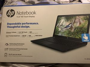 HP Notebook 15.6 HD Touch Display for Sale in Atlanta, GA