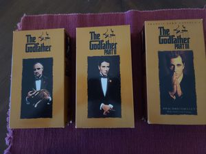 The Godfather trilogy gold box VHS tapes for Sale in Fort Lauderdale, FL