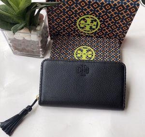 """Tory Burch """"Taylor"""" zipper wallet for Sale in Traverse City, MI"""