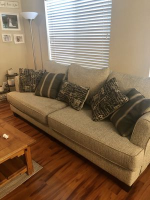 Couch with pillows for Sale in Phoenix, AZ