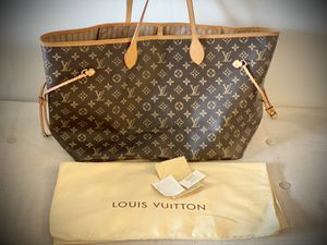 Authentic Louis Vuitton Neverfull GM for Sale in Northbrook, IL