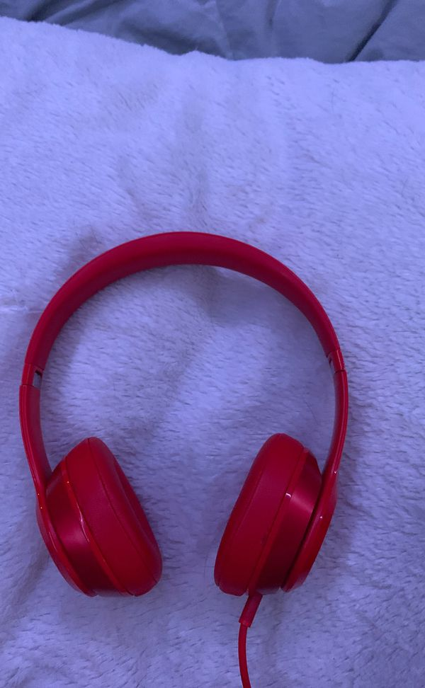 Beats Solo 1 (original wired on-ear headphones)-DOES NOT SUPPORT BLUETOOTH ONLY WIRED CONNECTION