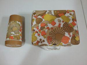 Vintage Aladdin Square Mushroom Lunchbox for Sale in Glendale, AZ