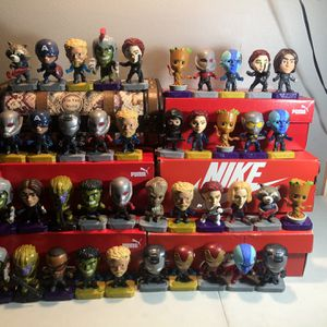 McDonald's Marvel Collectable Figures 51 Total for Sale in Chula Vista, CA