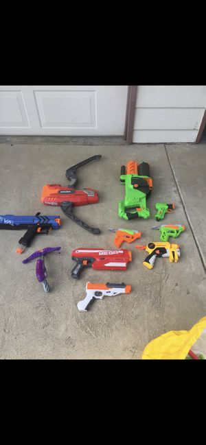 Collection of nerf guns for Sale in Fresno, CA