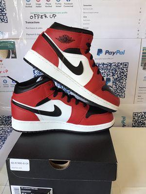 Air Jordan 1 mid size 5.5Y women's size 7 for Sale in Corona, CA