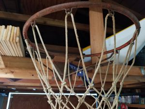 Vintage basketball hoop. Needs some paint for Sale in Marysville, WA