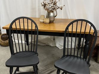Farmhouse dining table with 2 Chairs for Sale in Winter Garden,  FL