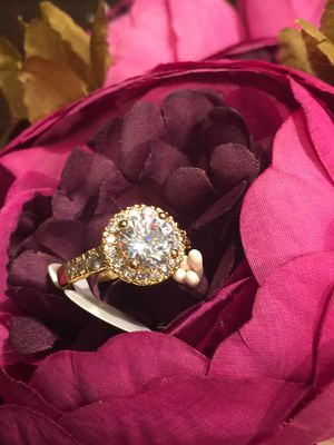 18k GF Engagement Wedding Ring Size 7 for Sale in Nashville, TN