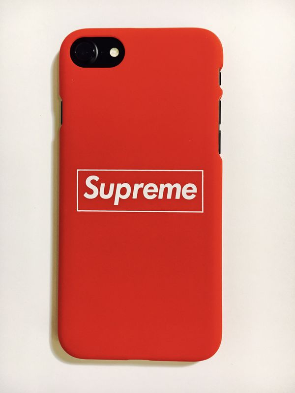 new style 75495 cf244 Supreme iPhone Case Cover for iPhone X/8/7/6 & Plus Box Logo Design- Matte-  NEW! for Sale in Dallas, TX - OfferUp
