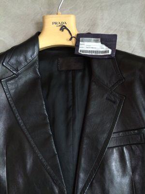 Prada soft leather jacket for Sale in Ashburn, VA