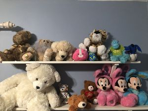 16 teddy bear/ stuffed animals for Sale in Tempe, AZ