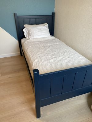 Pottery Barn twin bed for Sale in Roseville, CA
