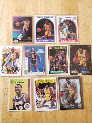 Magic Johnson Lakers NBA basketball cards for Sale in Gresham, OR
