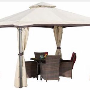 Brand New Backyard Beige Gazebo Tent for Sale in Glendale, AZ