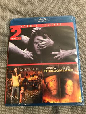 Blu Ray Double Feature - The Messengers & Freedomland ~ New & Sealed for Sale in Monmouth, OR